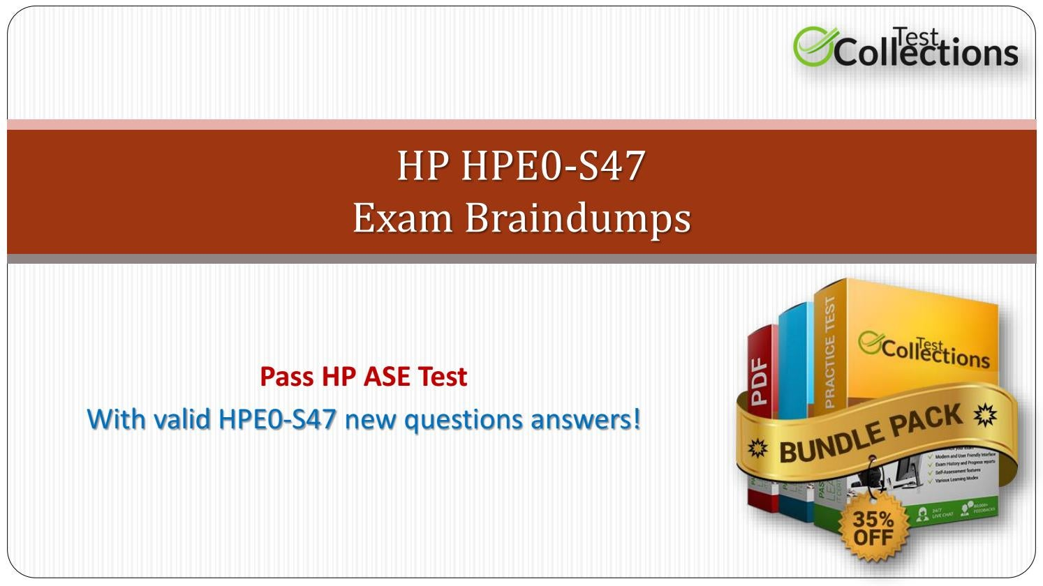 Hpe0 S47 Dumps The Complete Beginners Guide To Hpe0 S47 Exam By