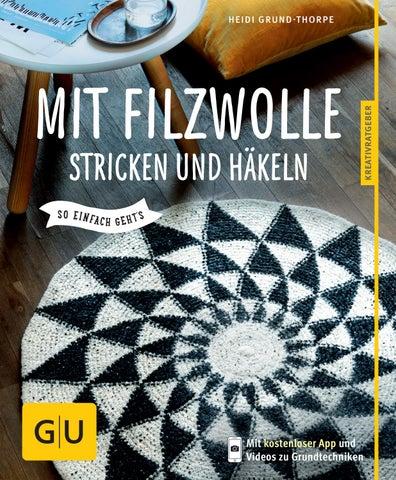 Mit Filzwolle Stricken Und Häkeln By Filati Wolle Handstrick Mode