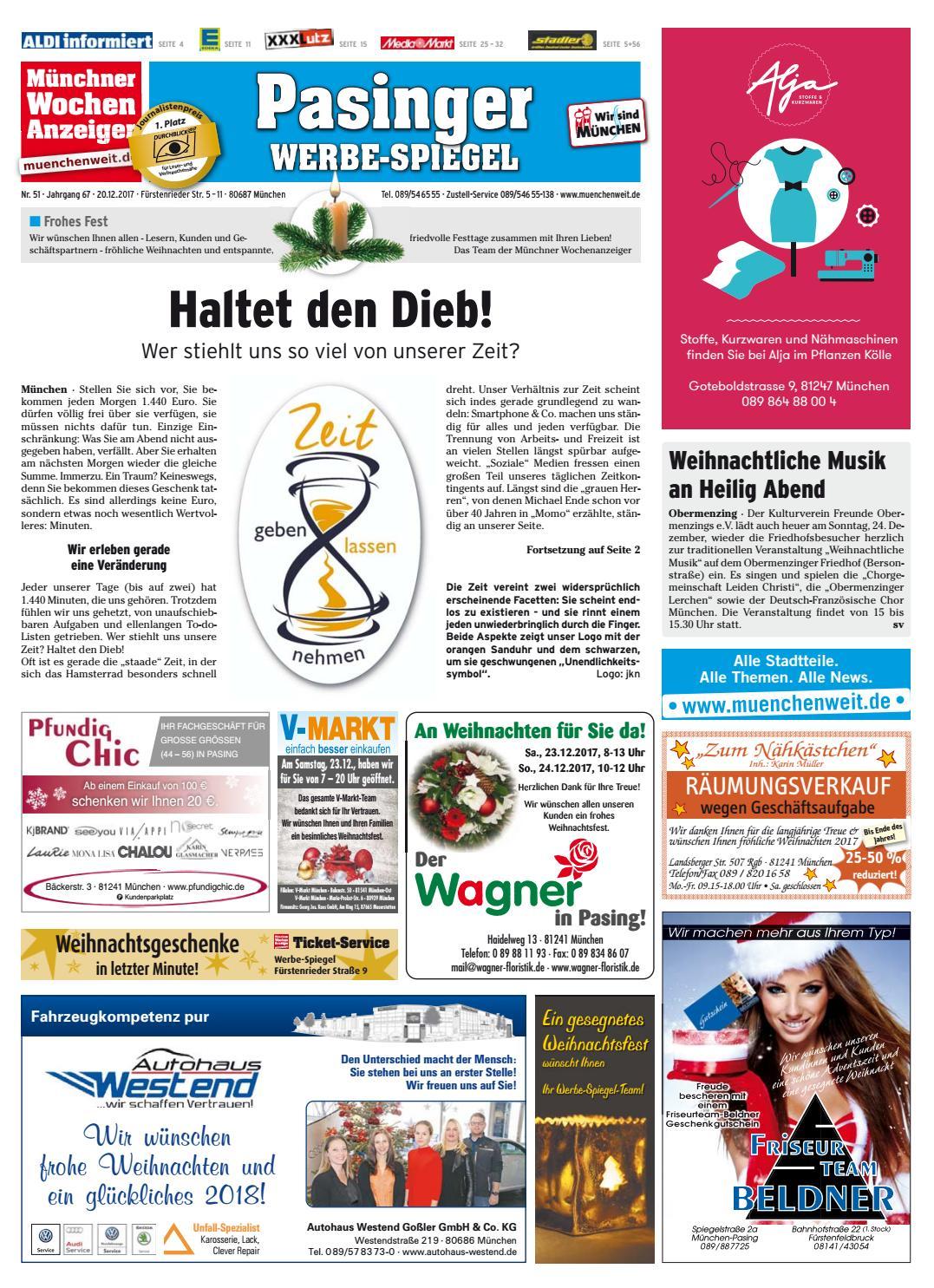KW 51-2017 by Wochenanzeiger Medien GmbH - issuu