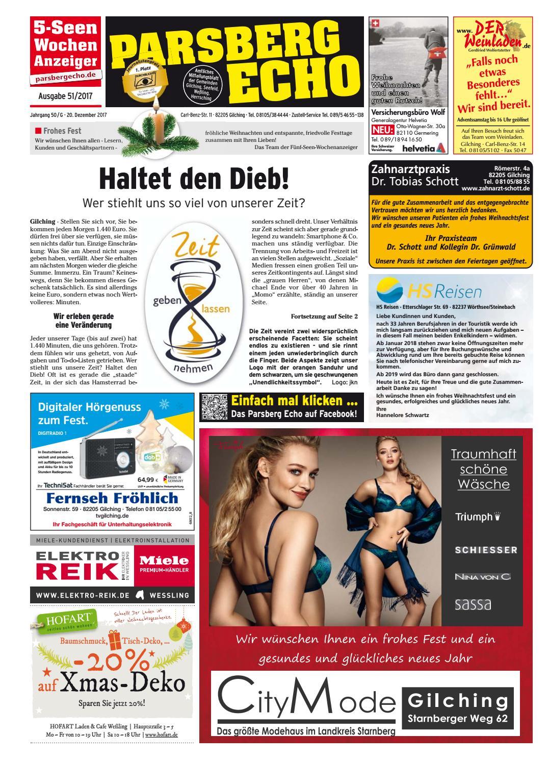 b6eb58f9183b74 KW 51-2017 by Wochenanzeiger Medien GmbH - issuu