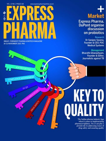 Express pharma vol13 no2 november 16 30 2017 by indian page 1 fandeluxe Choice Image