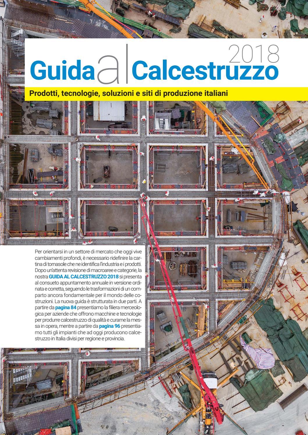 Alfa Edil Firenze Srl guida al calcestruzzo 2018 by casa editrice la fiaccola srl