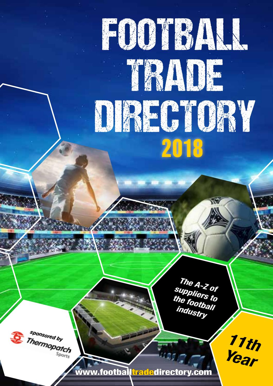 Football Trade Directory 2018 By Chris Shaw Issuu