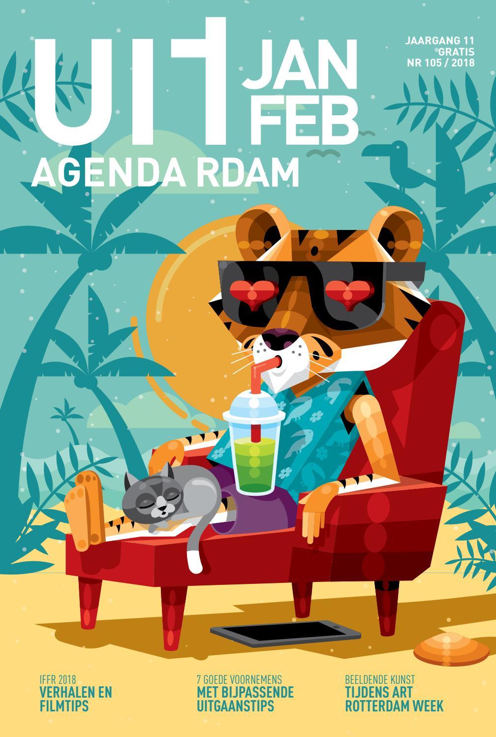 Uitagenda januari februari 2018 by rotterdam festivals issuu for Uit agenda rotterdam