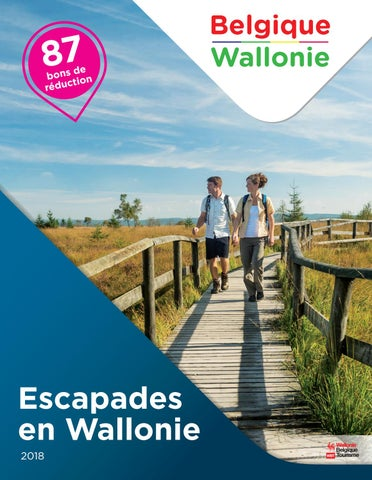 Escapade en Wallonie 2018 by Wallonia Belgium Tourism - issuu fe5fea540a2b