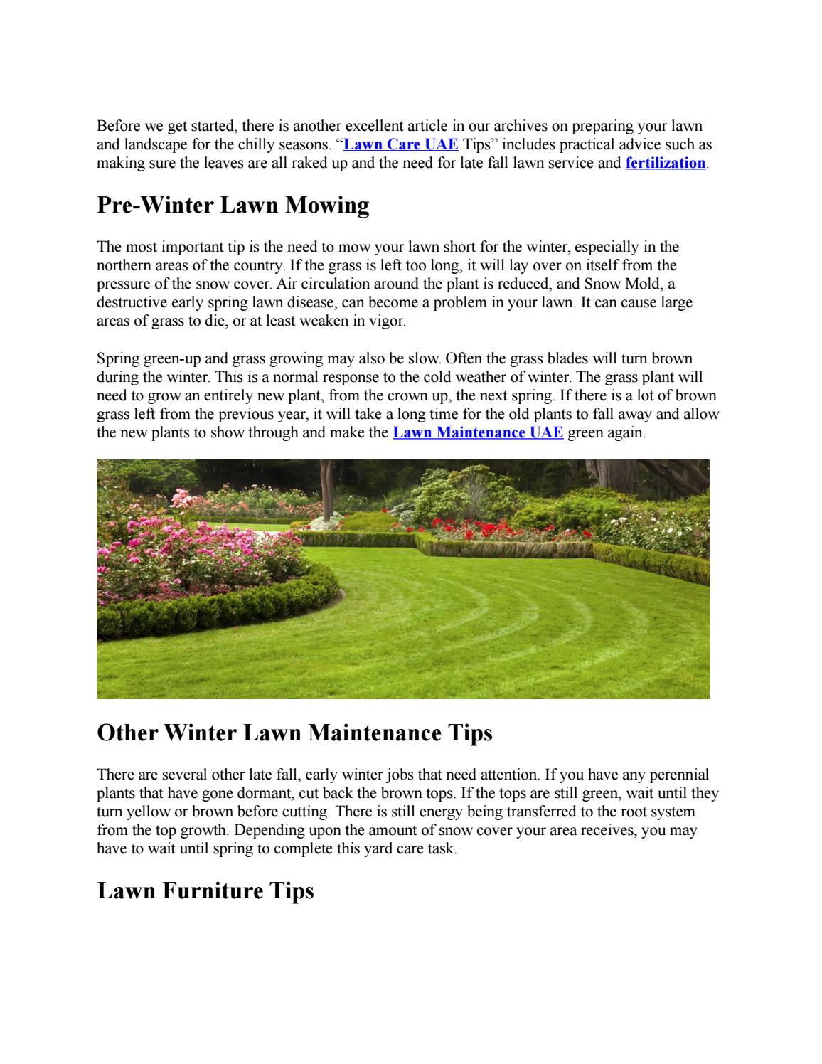 How To Prepare Your Lawn And Landscape