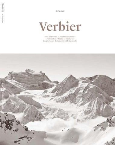 fc17a990d7e94a helvet magazine Verbier   Hiver 2017-2018   FR by Christian Bugnon ...