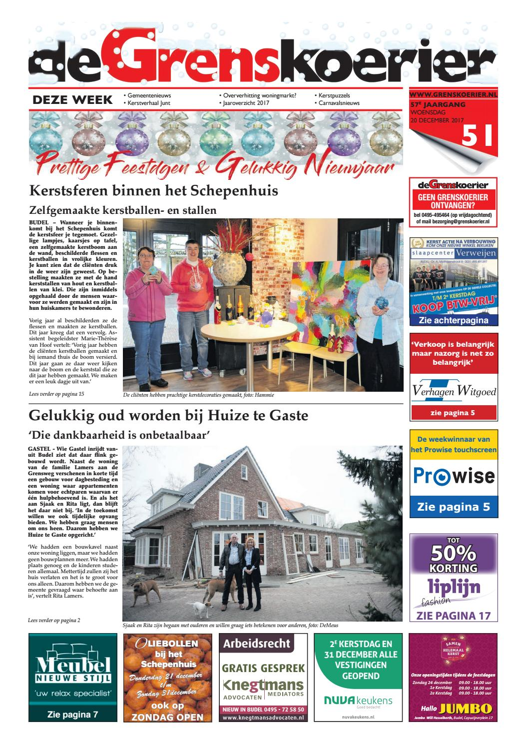 Grenskoerier Week 51 2017 By De Grenskoerier Issuu