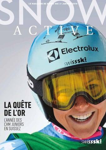 2018 Français Janvier By Issuu Ski Swiss Snowactive P6O7xnx