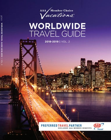 WORLDWIDE TRAVEL GUIDE 2018-2019 | VOL. 2 18 72MCT Worldwide  Brochure_COVER_AAA.indd 3
