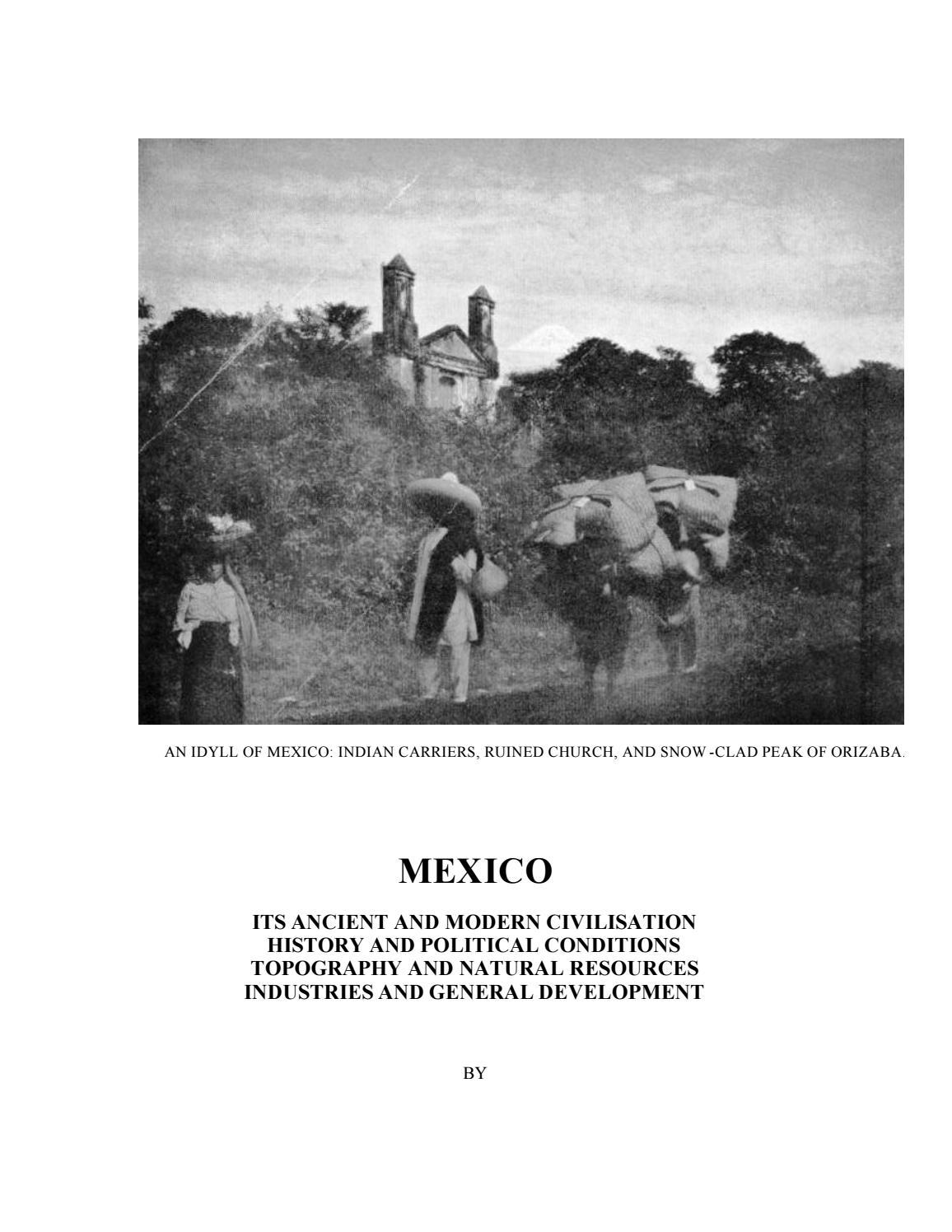 21 LIBRO Mexico en 1909 by MANUEL HUMBERTO GONZALEZ RAMOS - issuu 466e4f8ce5a8
