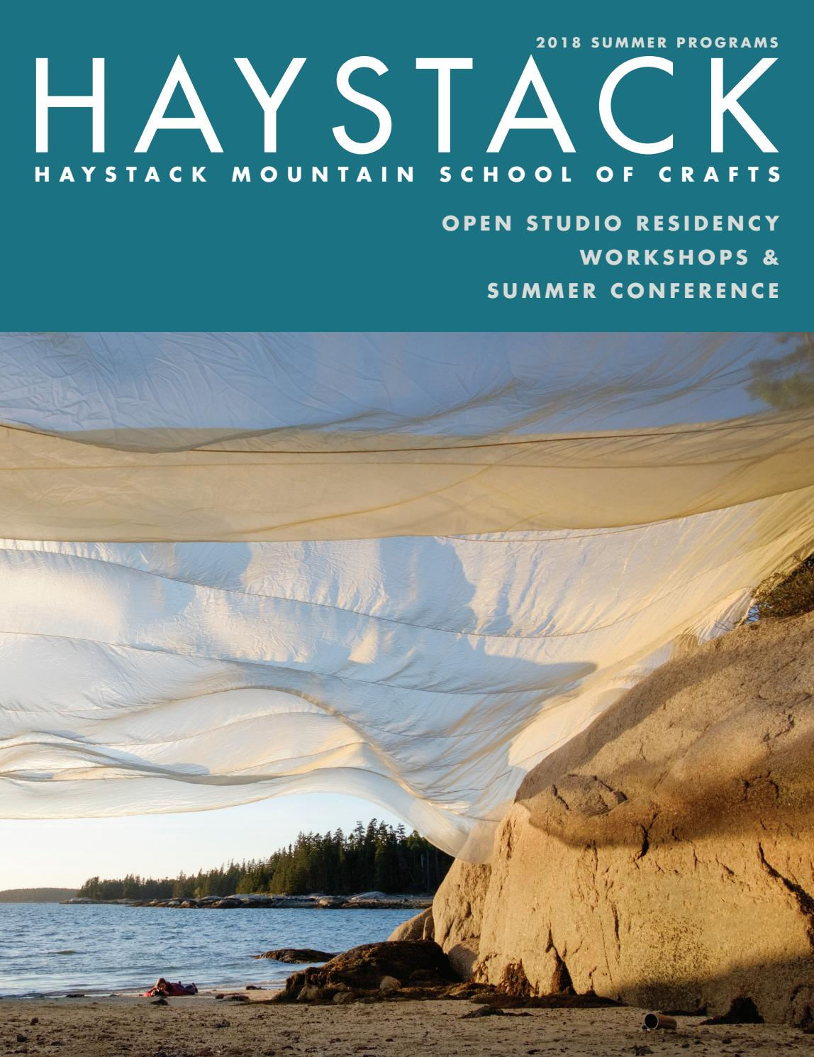 Haystack 2018 Catalog of Summer Programs by Ginger Aldrich - issuu