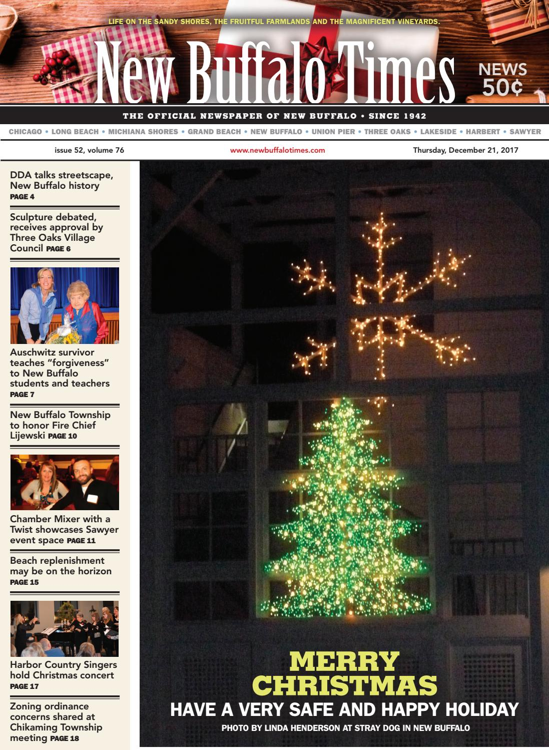Garden View Christmas Party December 21 2020 In Calumey Michigan December 21, 2017 by New Buffalo Times   issuu