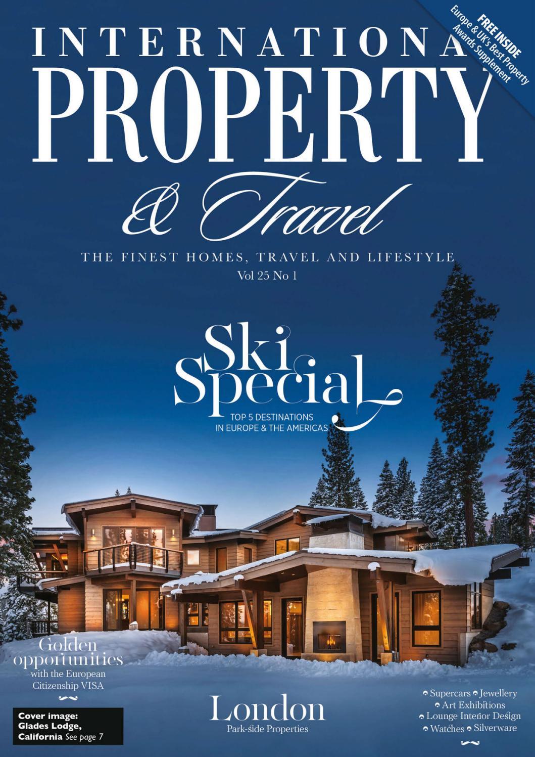 International Property & Travel Volume 25 Number 1 by International ...