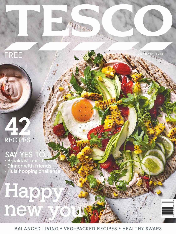 Tesco Magazine January 2018 By Issuu Fancy Feast Grilled Turkey In Gravy 85g 6 Pcs Free Pouch