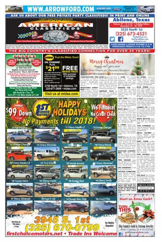 American classifieds abilene 12 21 17 by american classifieds page 1 malvernweather Choice Image