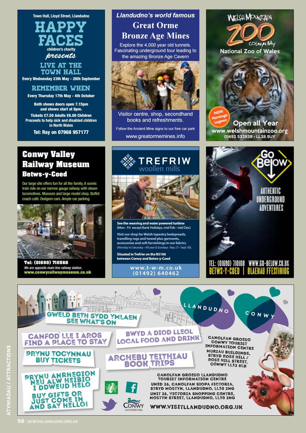 Llandudno Tourism Brochure 2018 #MAKINGMEMORIES by