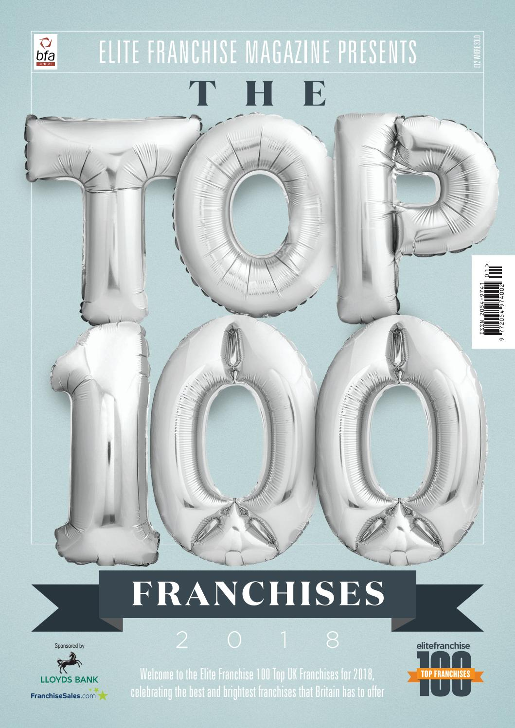 Elite Franchise 100 Guide 2018 by Elite Business Magazine - issuu
