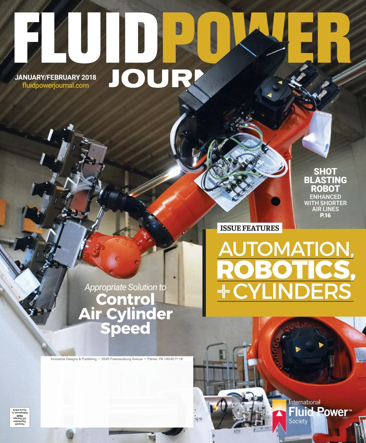 Fluid Power Journal January/February 2018 by Innovative