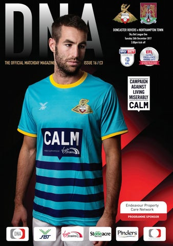 20b78ace0ac Doncaster Rovers v Northampton Town Matchday Magazine by Mark ...