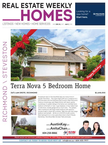 Richmond Dec 20 2017 Jan 3 2018 Real Estate Weekly By