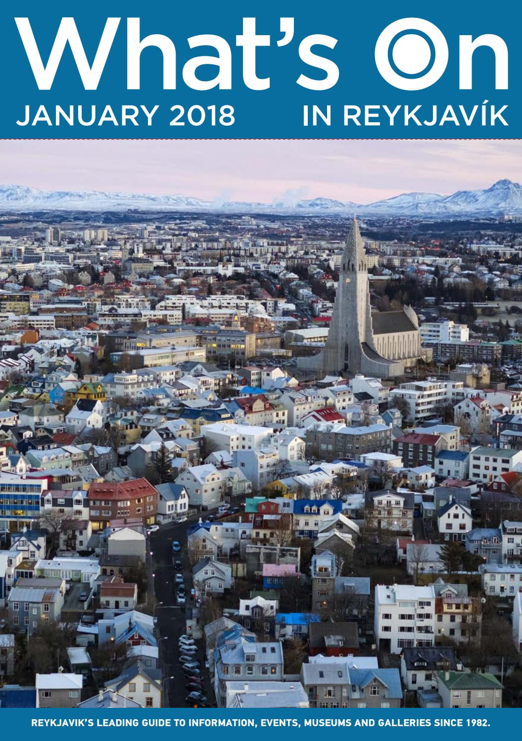 whats on in reykjavik january 2018 by md reykjavik issuu