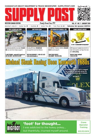 Supply Post Western Cover - January 2018