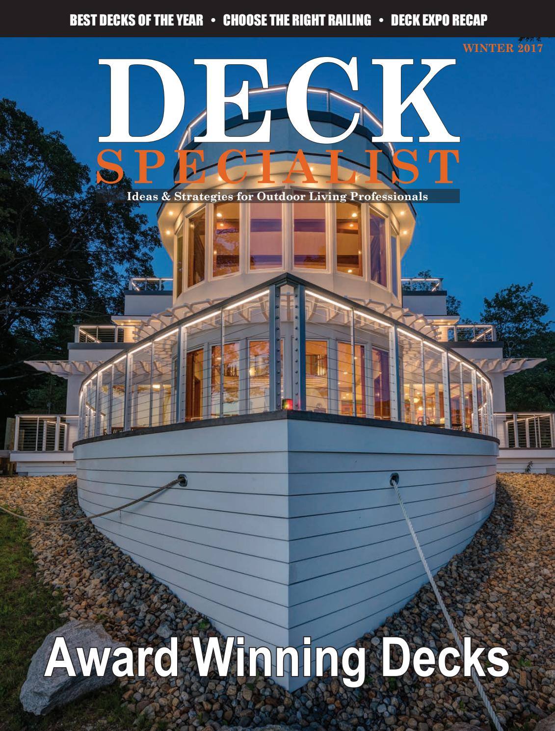 Deck Specialist Winter 2017 by 526 Media Group - issuu