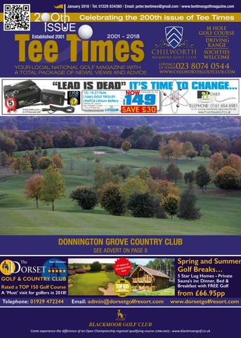 Tee Times Golf Magazine, January 2018 by Tee Times Golf