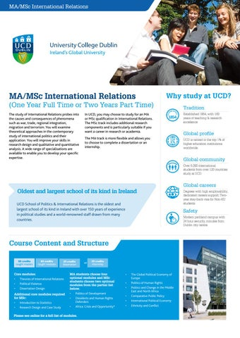 UCD College of Social Sciences and Law Graduate Course