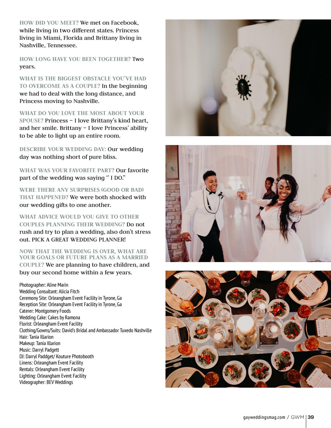 Gay Weddings And Marriage Winter 2017 By Gay Weddings And Marriage