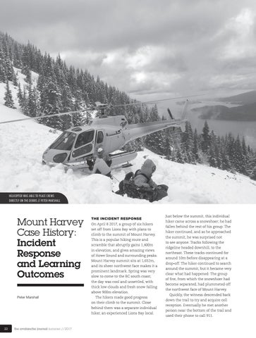 Page 24 of Mount Harvey Case Study