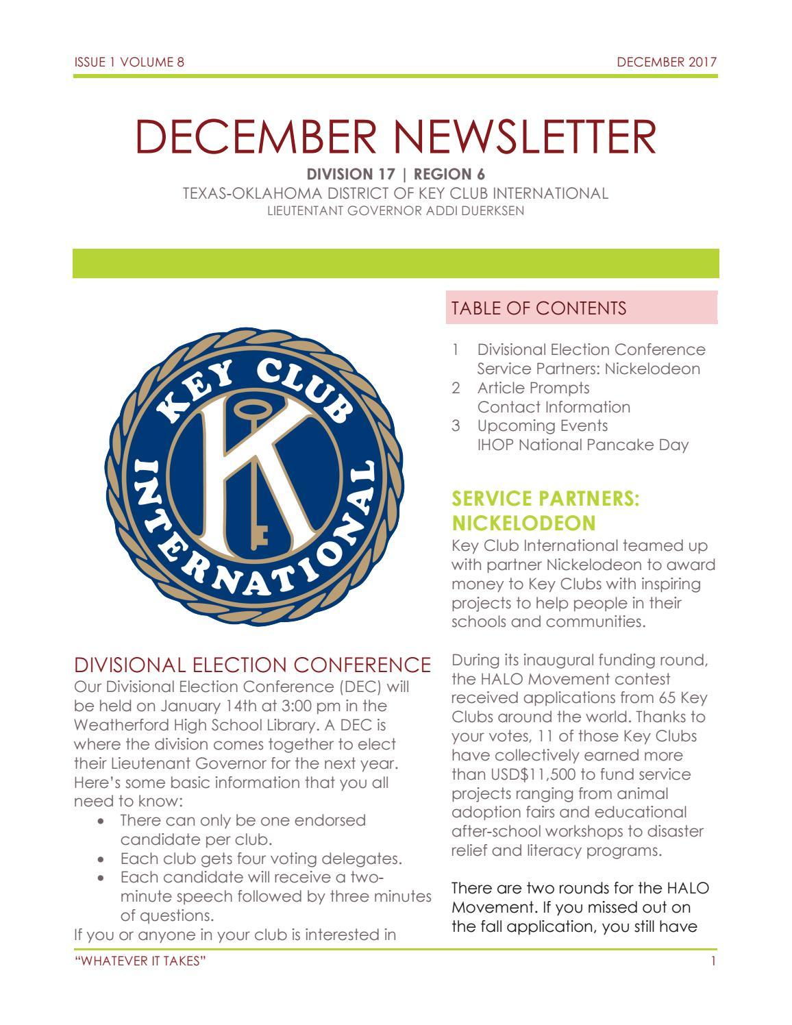 December Newsletter by Addi Duerksen - issuu