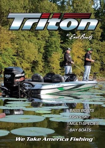 2018 Triton Boats Fiberglass Catalog by Triton Boats - issuu