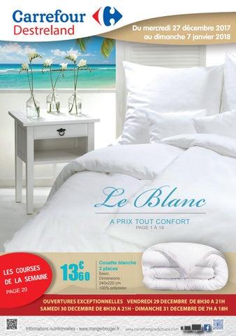 Carrefour Destreland Le Blanc Du 27 Décembre 2017 Au 07 Janvier