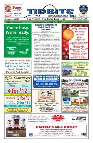 5ad8774706 Tidbits of Gallia, Jackson, Vinton, Meigs, & Mason Counties V6 Issue ...
