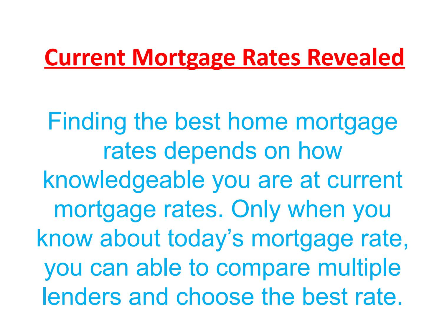 current mortgage rates revealed by aemloanseo issuu
