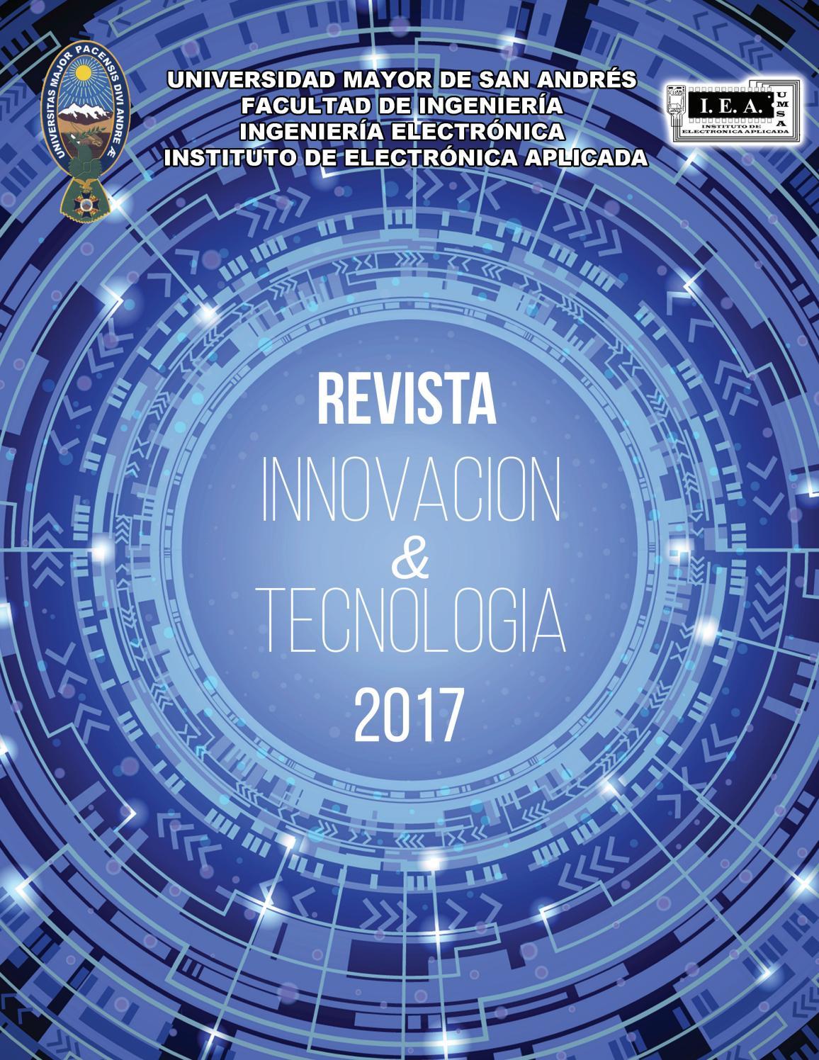 Revista 2017 by IEA UMSA - issuu