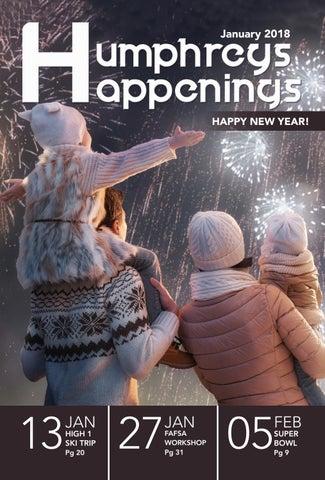 Humphreys Happenings - January 2018 by USAG Humphreys Family and MWR