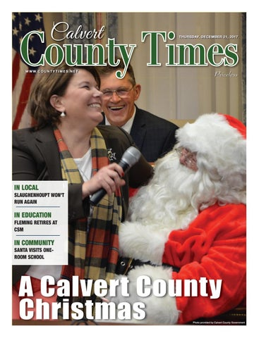 2017-12-21 Calvert County Times by Southern Maryland Online