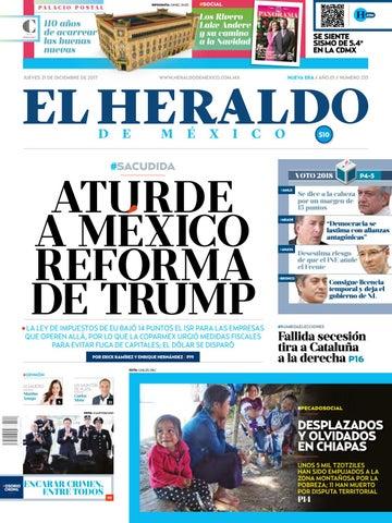 El Heraldo de México 21 de diciembre del 2017 by El Heraldo de ... 4f3f40933b5e9