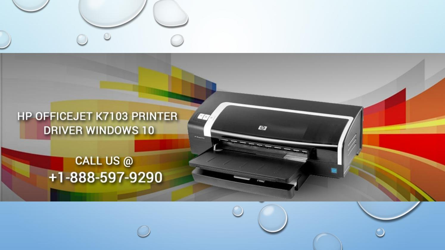 driver imprimante hp officejet k7103