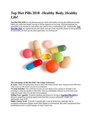 Top Diet Pills 2018 Healthy Body Healthy Life By Top Diet