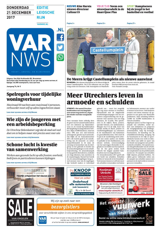 4232318603d8ff VARnws Leidsche Rijn 21 december 2017 by VARnws - issuu