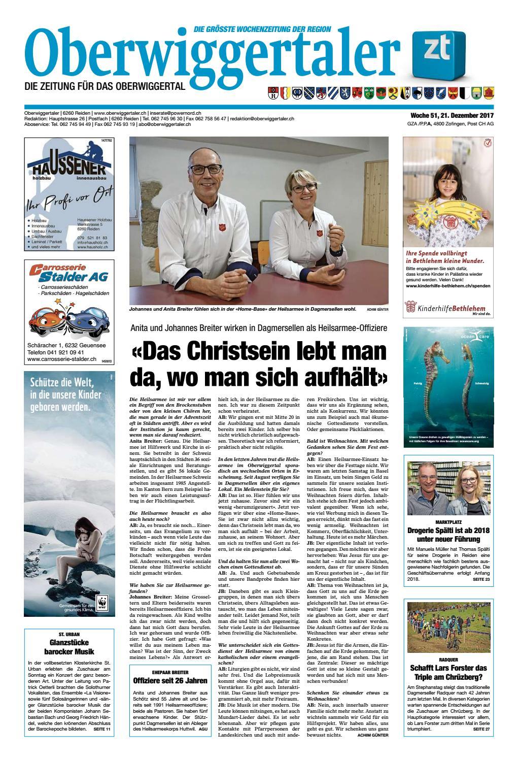 Oberwiggertaler 51/17 by ZT Medien AG - issuu