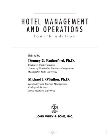 Hotelmanagement by charles moradell casellas issuu page 1 fandeluxe Image collections