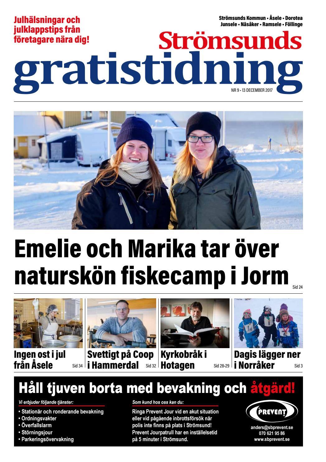 Strömsunds Gratistidning december 2017 by Jämtlands Tidningar - issuu 13196fb8dd32a