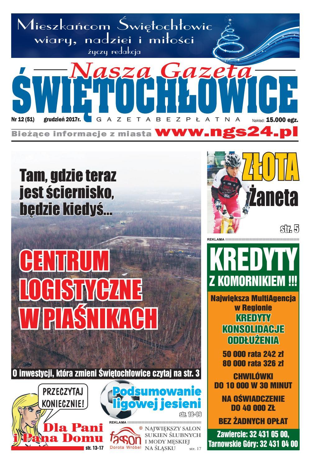 175494cd25102 Nasza Gazeta Świętochłowice nr 51 - 12 2017 by F-PRESS - issuu