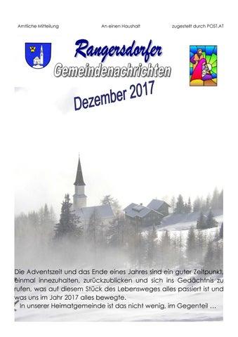 Rangersdorfer Gemeindenachrichten by chdesigns - issuu