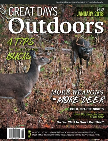 Great Days Outdoors - January 2018 by TrendSouth Media - issuu